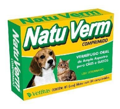 Natuverm - 4 comprimidos