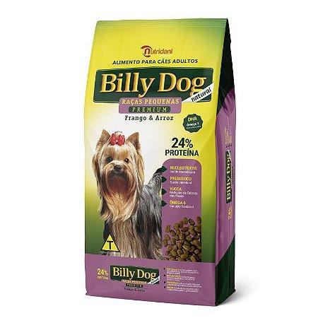 Billy Dog Natural Adulto Pequeno Porte 8kg