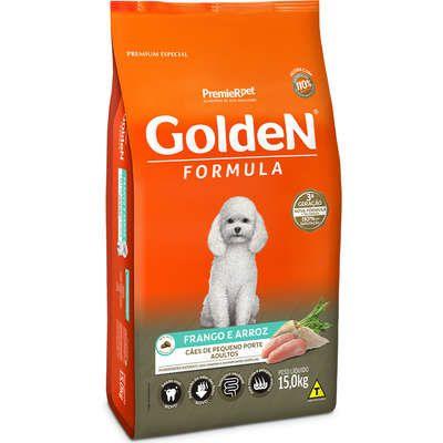 Golden Adulto Pequeno Porte Frango e Arroz 15kg