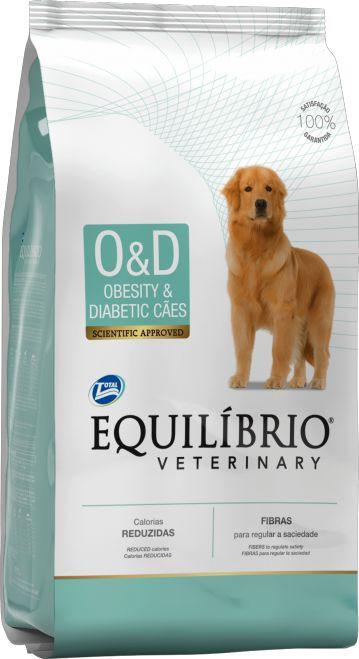 Equilíbrio Veterinary Cães Obesity & Diabetic 7,5kg
