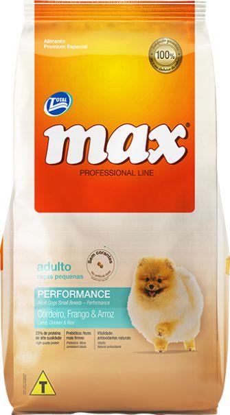 Max Prof. Line Adulto Raças Pequenas 15kg