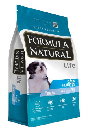 Fórmula Natural Filhotes Portes Mini e Pequeno 7Kg