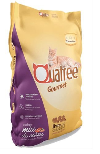 Quatree Gourmet Gatos Adultos Mix de Carnes 10kkg