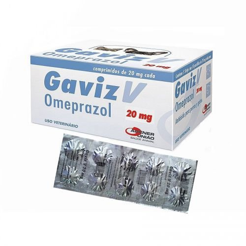 GAVIZ 20MG - CARTELA 10 COMPRIMIDOS