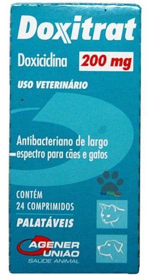 Doxitrat 200mg - 12 comprimidos