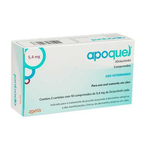 Apoquel 5,4mg - 20 comprimidos