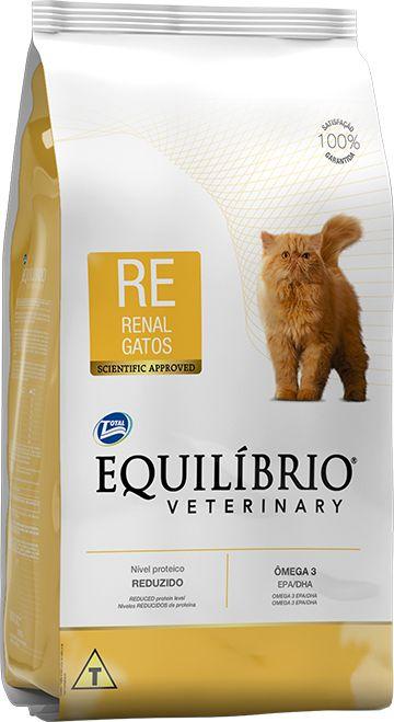 Equilíbrio Veterinary Gatos Renal 2kg