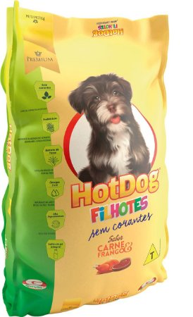HOT DOG FILHOTE 10KG