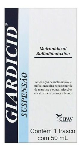 GIARDICID SUSPENSÃO - 50ML