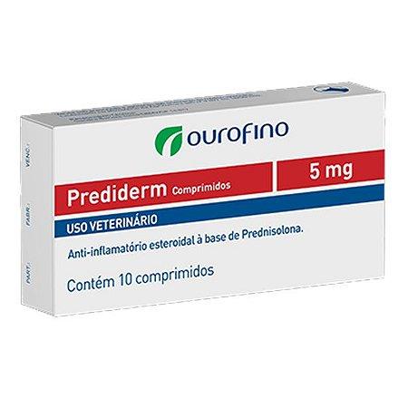PREDIDERM 5MG - 10 COMPRIMIDOS