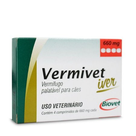 VERMIVET IVER 660MG