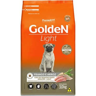 GOLDEN LIGHT PEQUENO PORTE 3KG