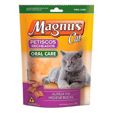Magnus Cat Petisco Recheado Oral Care 30G