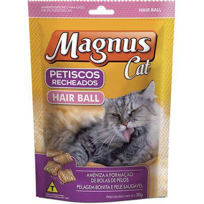 Magnus Cat Petisco Recheado Hair Ball  30G