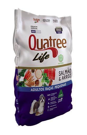 QUATREE LIFE ADULTO PEQUENO PORTE SALMÃO 3KG