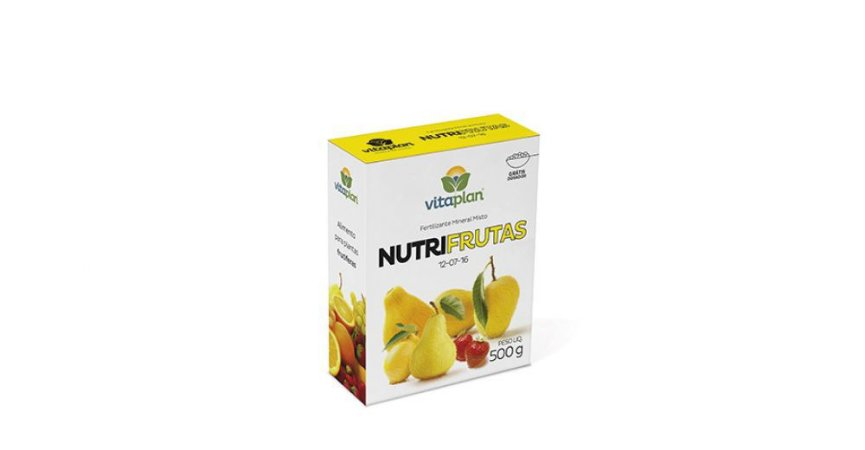 Fertilizante Nutri Frutas Vitaplan 500g