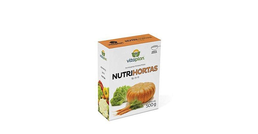 Fertilizante NutriHortas Vitaplan 500g