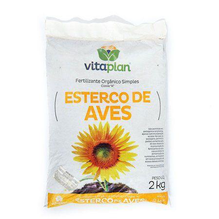 Esterco de Aves Vitaplan 2kg