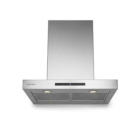 Coifa Elettromec Milano Parede Inox 60cm-127 V - CFP-MLN-60-XX-1LUC