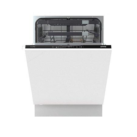 Lava-Louças de Embutir Gorenje Smart Flex Eletrônica 16 Serviços Inox 60cm - SEM REVESTIMENTO -220V GV66260BR