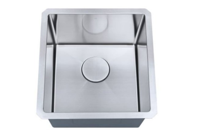 Cuba de cozinha aço inox Arell 1mm escovado S102 43,2x45,7x22,9cm