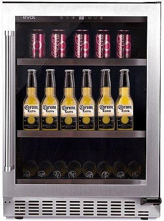 Cervejeira Frost Free 135 Litros EVOL - 127v - Porta Esquerda - JC-145C