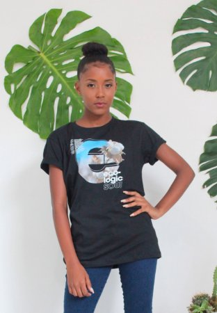 Camiseta Feminina Gola Olímpica Ecologic Soul Fio de Algodão Orgânico