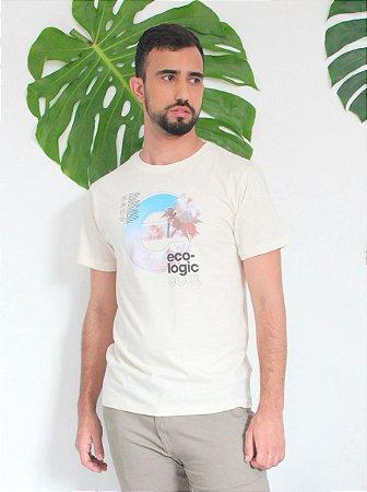 Camiseta Gola Olímpica - Ecologic Soul - Algodão Agroecológico