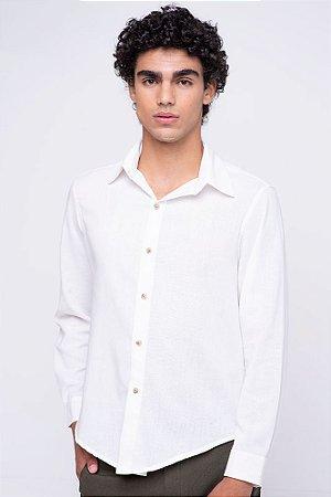 Camisa Masculina Linho