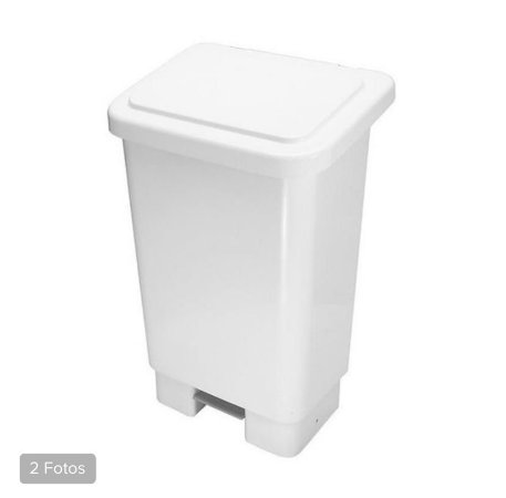 Lixeira quadrada 50 litros