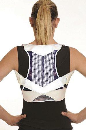 Espaldeira postural tipo mochila