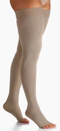 Meia  Sigvaris 7/8 Select Confort 20-30 mmHg Natural Escura