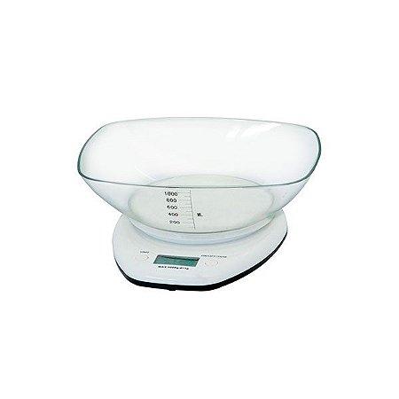 Balança Digital Bowl - Branca/5kg