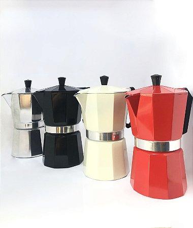 Cafeteira Italiana para 6 Cafezinhos - 300ml
