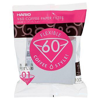 Filtro de Papel Branco para Hario V-60