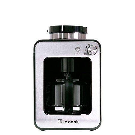 Máquina de Café Le Cook Gourmet Automática com Moedor - 110v