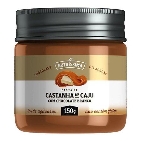 Creme de Castanha de Caju com Chocolate Branco - Nutrissima 150g