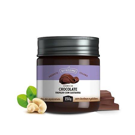 Creme de Chocolate Trufado com Castanha - Nutrissima 150g