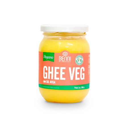 Manteiga Ghee Com Sal Rosa - Benni 200g