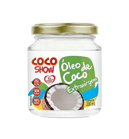 Óleo de Coco Extravirgem Coco Show - 200ml