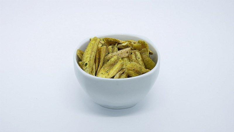 Chips de Banana Cebola e Salsa - 100g