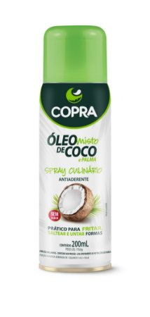 Spray Óleo de Coco e Palma Coco Show - 200ml