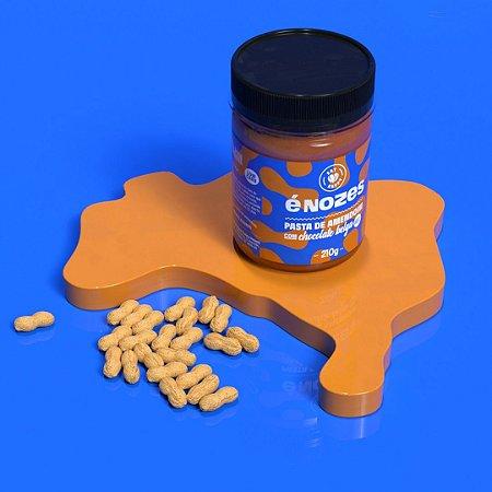 Pasta de Amendoim com Chocolate Belga 70,5% - éNozes 210g