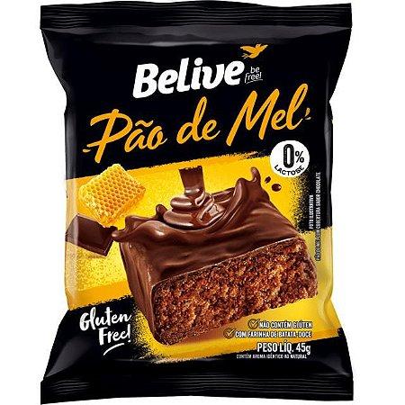 Pão de Mel Sem Glúten - BeLive  45g