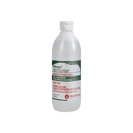 Riogel Álcool Etílico Hidratado em Gel 70% 430g - Unidade