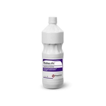 Antisséptico Riohex 2% de 1 Litro da Rioquímica - Unidade