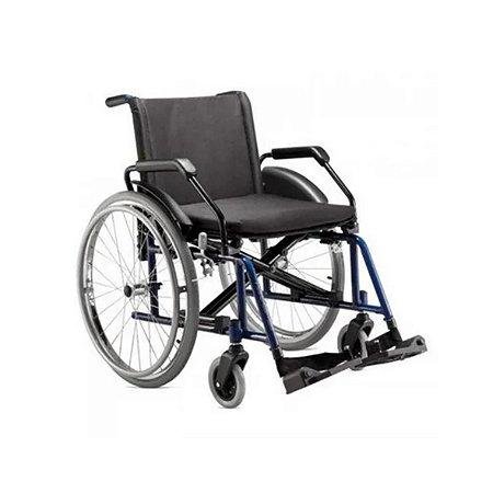 Cadeira de Rodas Poty, até 120kg Cor Vinho da Jaguaribe - Unidade