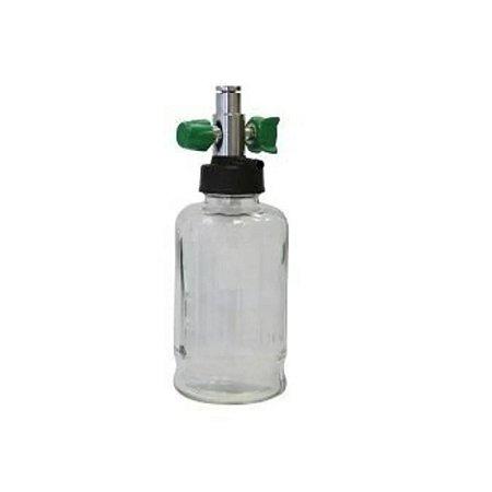 Aspirador de Secreção Venturi para Rede de Oxigênio, Frasco em Vidro - Unidade
