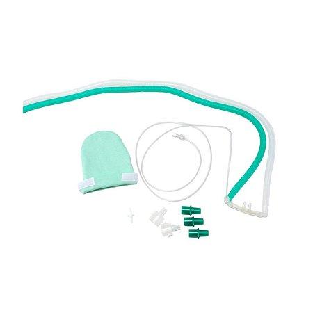 Kit Circuito CPAP Nasal Infantil com Cânula de Silicone - Unidade