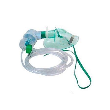 Kit de Nebulização com Máscara de Oxigênio e Acessórios - Unidade